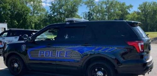 Police Cruiser courtesy of Police Chief Gary Thomann