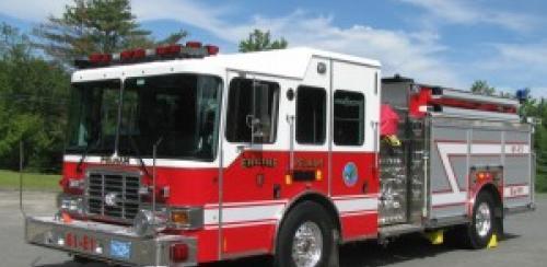 Fire Engine 1 courtesy of Fire Chief Raymond Murphy Jr.