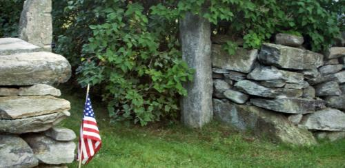 Stone Wall courtesy of Pennington Geis